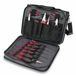 """Профессиональный набор инструментов  """"Elektronik"""" 25 предметов в сумке СIMCO 17 3310"""