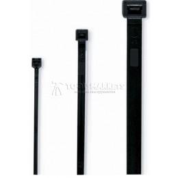 Кабельные стяжки черные 3.5 х 200 мм CIMCO 18 1804