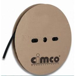 Заказать Термоусадочные трубки со средней толщиной стенки черного цвета, термоусадочное соотношение 3:1 CIMCO 18 4218 отпроизводителя CIMCO