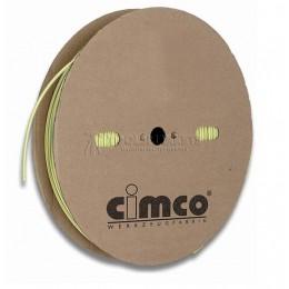 Заказать Тонкостенные термоусадочные трубки желто-зеленого цвета, термоусадочное соотношение 2:1 CIMCO 18 4136 отпроизводителя CIMCO