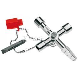 Заказать Ключ для электрошкафов 90 мм KNIPEX KN-001104 отпроизводителя KNIPEX