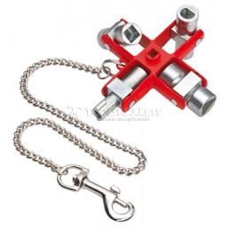 Заказать Ключ для электрошкафов 90 мм KNIPEX KN-001106 отпроизводителя KNIPEX