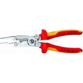 Многофункциональные клещи для электромонтажных работ VDE 200 мм KNIPEX KN-1396200