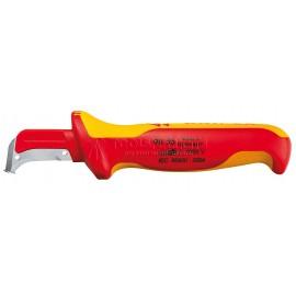 Нож для удаления оболочек кабелей VDE 180 мм KNIPEX KN-9855