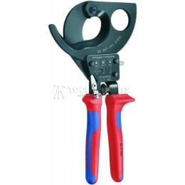 Кабелерез трещеточный до 52 мм, 280 мм KNIPEX KN-9531280
