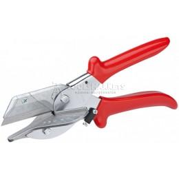 Ножницы угловые для пластмассовых и резиновых профилей 45° 215 мм KNIPEX KN-9435215