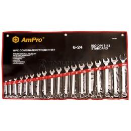 Набор ключей комбинированных 14 предметов 10-32 мм AmPro T40186