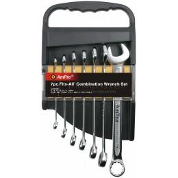 Набор ключей универсальных FITS-ALL 10-19 мм 7 предметов AmPro T42671