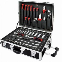 Набор инструмента 136 предметов в алюминиевом кейсе (дюйм+метрика) AmPro T45901
