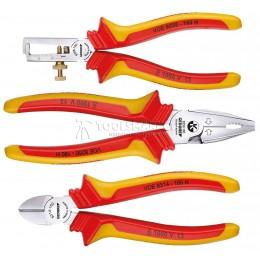 Заказать Набор шарнирно-губцевого инструмента 3 предмета 1102-004 VDE GEDORE 1708244 отпроизводителя GEDORE