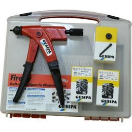 Заклёпочник Firefly в боксе ручной для заклёпок-гаек GESIPA 7520001