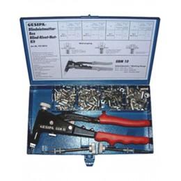 Заказать Набор GBM10 M4,М5,M6 + 4 вида гаек для вытяжной заклепки GESIPA 7530013 отпроизводителя GESIPA