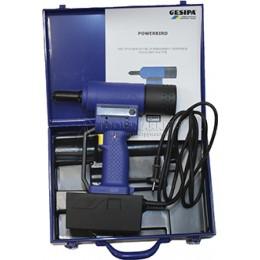Заклепочник PowerBird с блоком питания 220В / 14,4В аккумуляторный для вытяжной заклепки GESIPA 7240031/220V
