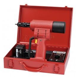 Заклепочник FireBird с блоком питания 220В / 14,4В аккумуляторный для резьбовых для заклёпок-гаек GESIPA 7260032/220V