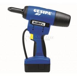 Заклепочник AccuBird Pro аккумуляторный для вытяжной заклепки GESIPA 7320001