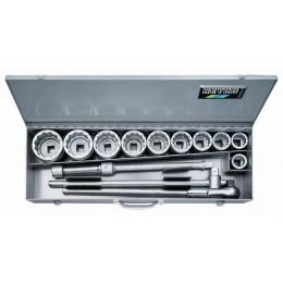 Комплект торцовых ключей 106-0-M 14 предметов HEYCO HE-00106000080