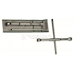 Ключ для колёсных гаек с поворотным стержнем 17 x 19 мм HEYCO HE-00605000083
