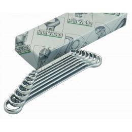 Набор двусторонних накидных гаечных ключей 12 предметов K 450-12-M HEYCO HE-00450947082
