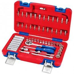 Набор инструментов универсальный 56 предметов МАСТАК 01-056C