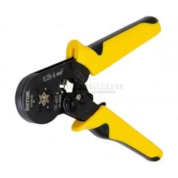 Пресс-клещи для опрессовки втулочных наконечников 0.25-6 мм2 ПК-6вт-6, SHTOK SH-03504