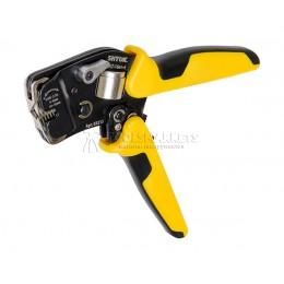 Пресс-клещи для опрессовки втулочных наконечников торцевые 0.08-16мм2 ПКТ-16вт-4, SHTOK SH-03213