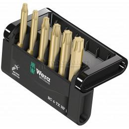 Набор бит Mini-Check TX HF С фиксирующей функцией для винтов 50 мм WERA WE-056476