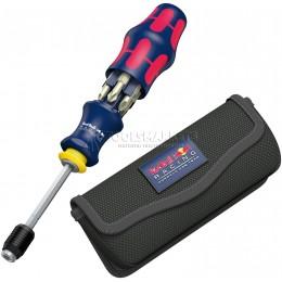 Отвертка Kraftform Kompakt 20 Red Bull Racing нержавеющая сталь с сумкой WERA WE-227702