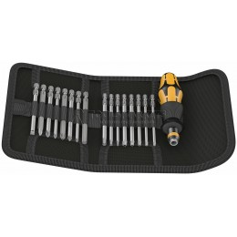 Набор Kraftform Kompakt 60 ESD, 17 предметов WERA WE-051043
