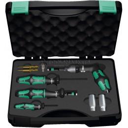 Заказать Набор для контроля давления в шинах 7443/61/9 4.0-8.8 Nm 9 предметов WERA WE-074745 отпроизводителя WERA