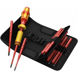 Набор диэлектрический Kraftform Kompakt VDE 15 предметов Torque 1,2 - 3,0 Nm WERA WE-059291