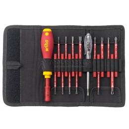 Профессиональный стартовый набор инструментов SlimVario VDE 2831 T16, 16 предметов Wiha 36068