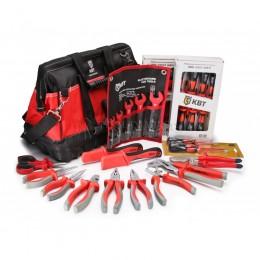 Набор инструментов электромонтажника НИЭ-04 34 предмета КВТ 67332