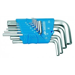 Набор ключей шестигранных 10 предметов 1.3-10 мм H 42-10 GEDORE 1505408