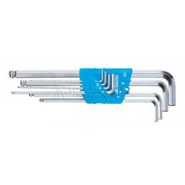 Набор ключей шестигранных 8 предметов 2-10 мм H 42 KEL-88 GEDORE 1523988