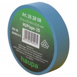 Изолента ПВХ синия 15 х 10 м HAUPA 263808
