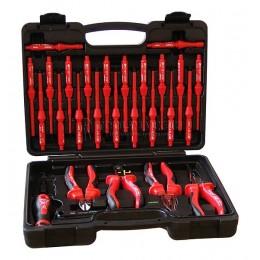 Набор инструментов 1000V 28 предметов Варио плюс HAUPA 102050