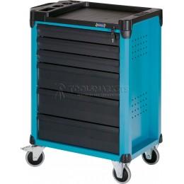 Заказать Тележка инструментальная 6 ящиков, синяя HAZET 178-6 отпроизводителя HAZET