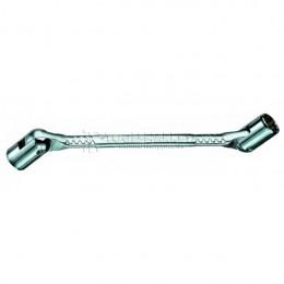 Заказать Двусторонний шарнирный торцевой ключ 8 x 9 мм HEYCO HE-00493080982 отпроизводителя HEYCO