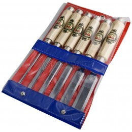 Заказать Набор стамесок с восьмигранными рукоятками из граба 6 предметов 1112 KIRSCHEN KR-1112000 отпроизводителя KIRSCHEN