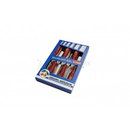 Набор стамесок с пластиковыми рукоятками в картонной коробке 6 предметов 1113 SB KIRSCHEN KR-1113000