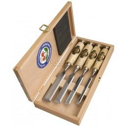 Заказать Набор стамесок с рукоятками из граба в деревянном футляре 4 предмета 1141 HK KIRSCHEN KR-1141000 отпроизводителя KIRSCHEN