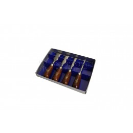 Набор стамесок в картонной коробке 4 предмета 1156 KIRSCHEN KR-1156000