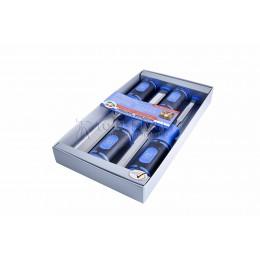 Набор стамесок с двухкомпонентными рукоятками в картонной коробке 4 предмета 1198 SB KIRSCHEN KR-1198000