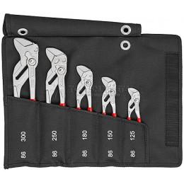 Заказать Набор из 5-ти клещевых ключей в сумке-скрутке KNIPEX KN-001955S4 отпроизводителя KNIPEX