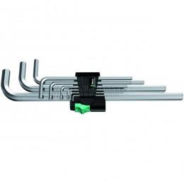 Заказать Набор Г-образных шестигранных ключей, метрических, хромированных 9 предметов 950 L/9 SM N WERA WE-021909 отпроизводителя WERA