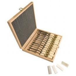 Набор резцов по дереву в деревянной коробке 14 предметов 5414 HK KIRSCHEN KR-5414000