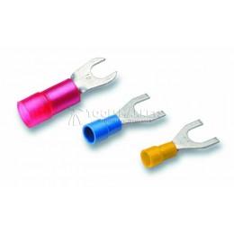 Обжимные изолированные кабельные наконечники вильчатой формы CIMCO 18 0170