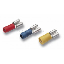 Изолированные плоские кабельные наконечники DIN 46245 CIMCO 18 0258