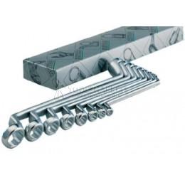 Набор двусторонних накидных гаечных ключей 6 предметов K 475-6-M-2 HEYCO HE-00475942182