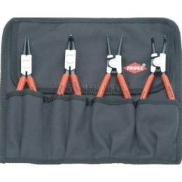 Заказать Комплект щипцов для стопорных колец 4 предмета KNIPEX KN-001956 отпроизводителя KNIPEX